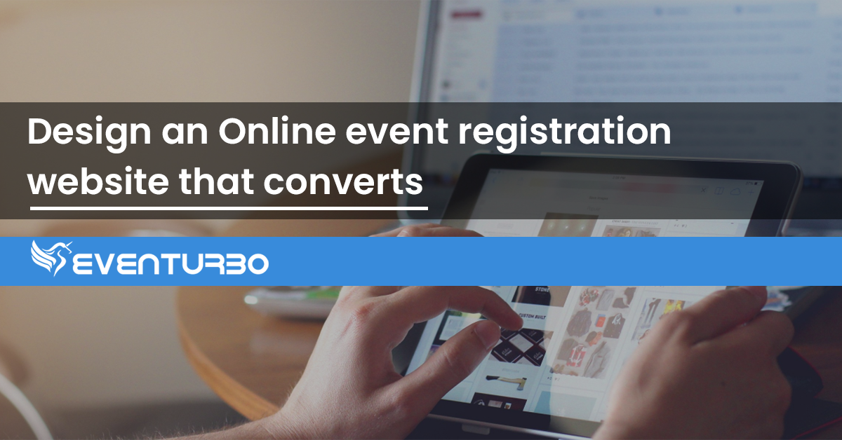online event registration website